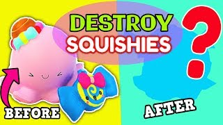 SQUISHY UNMAKEOVERS: Turning Cute Squishies into Monsters #3