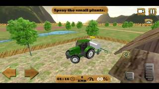 Farming Sim : 3D Cargo Tractor Driving Games 2018 #1 - Best Android GamePlay FHD