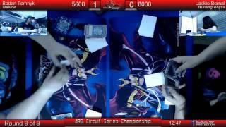 ARGCS Championship 2015 Round 9 Bodan Temnyk vs Jackie Bernal