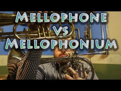 Mellophone vs Mellophonium