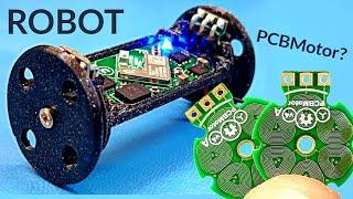 PCB Motor Wheeled Robot v1
