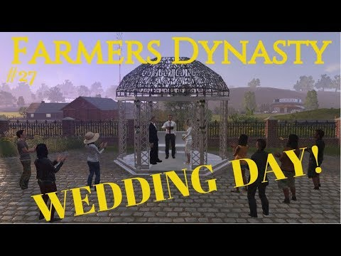 Farmers Dynasty | #27 | Getting Married! | Baby coming in the future!