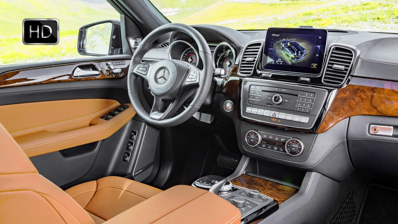 2017 mercedes benz gls class 350d 4matic suv interior design hd youtube. Black Bedroom Furniture Sets. Home Design Ideas