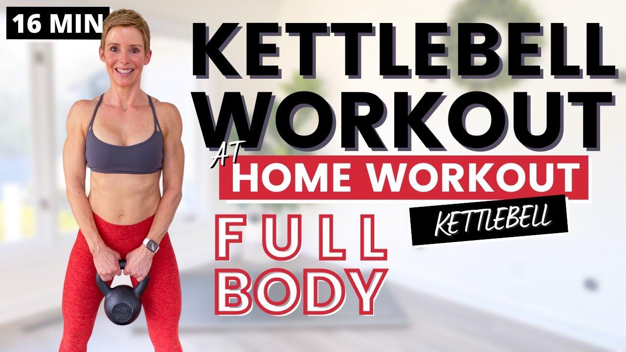 KETTLEBELL WORKOUT Full Body HIIT Workout