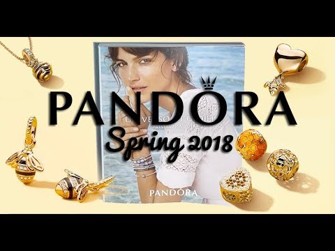 PANDORA SPRING COLLECTION 2018 Shine Rose & Silver | Nuova c