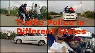 TRAFFIC POLICE IN DIFFERENT STATES - HR 35 WALE