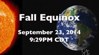 The Night Sky - Autumnal Equinox and the Changing Seasons