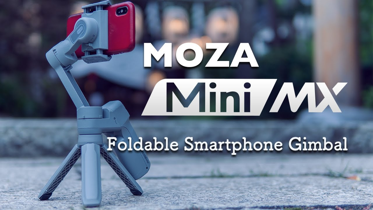 【NEW RELEASE!】MOZA Mini MX with iPhone X   -Foldable Smartphone Gimbal-