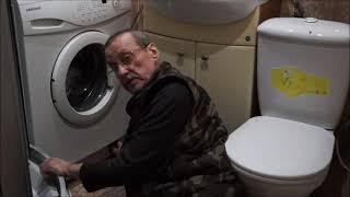 Моя  жизнь  после  70  лет.   Ремонт  стиральной  машины.
