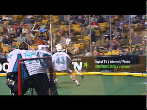 Boston Blazers vs Rochester Knighthawks 2/6/10
