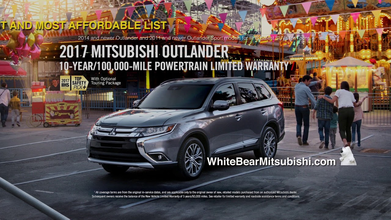 White Bear Mitsubishi September Outlander Commercial YouTube - Mitsubishi roadside