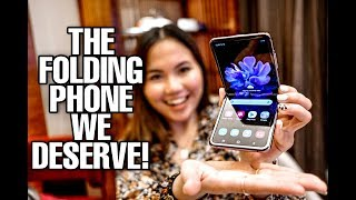 GALAXY Z FLIP HANDS-ON: THE FOLDING PHONE WE DESERVE!