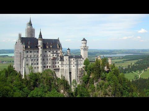 Neuschwanstein Castle & Bavaria, Germany Aerials in 4K