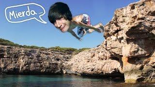 EPICOS SALTOS DE ACANTILADOS! Flip Diving - [LuzuGames]