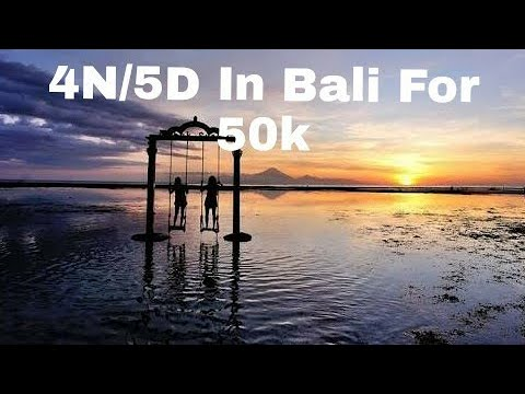 4N/5D In Bali For Just 50k Including{ Hotels,flight}
