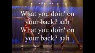 You Should Be Dancing Glee Lyrics