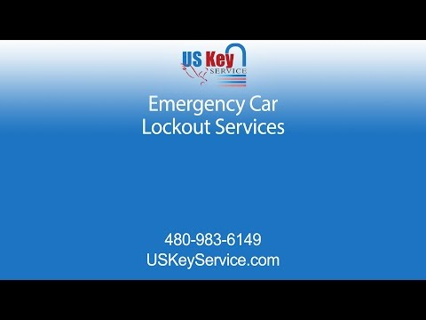 AZ Emergency Lockout Locksmiths at US Key Service
