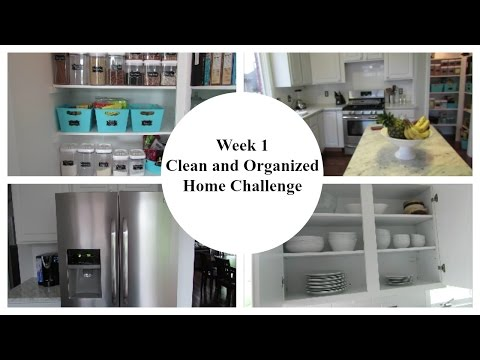 Week 1: 2016 Clean and Organized Home Challenge   Kitchen Clutter