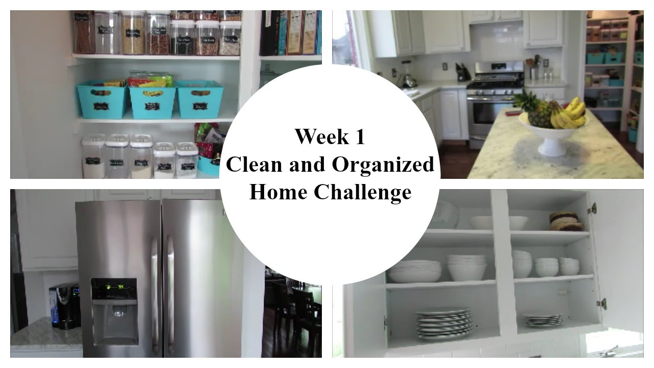 how to keep kitchen clean and organized week 1 2016 clean and organized home challenge kitchen 9465