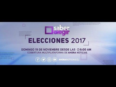 Elecciones Chile 2017: Cobertura Especial Ahora Noticias #SaberElegir