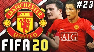 VOTE FOR OUR CAPTAIN!! RONALDO OR MAGUIRE?! - FIFA 20 Manchester United Career Mode EP23