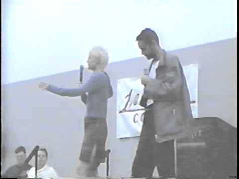 Alexander Siddig and Nana Visitor in Missouri, 2000