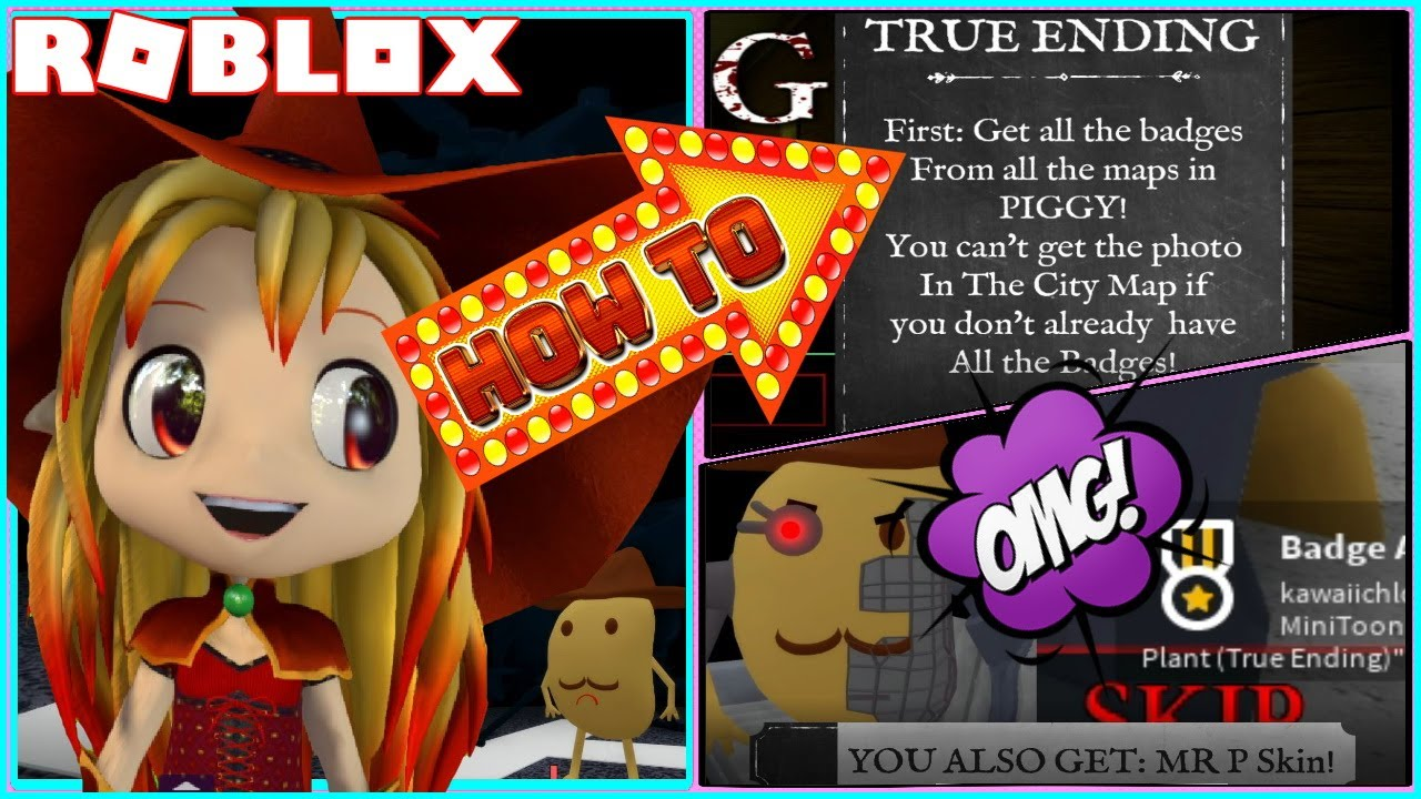 Roblox Gameplay Piggy 3 Important Steps On How To Get True