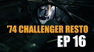 74 Dodge Challenger Restoration #16 - Patching passenger side ROCKER SILL