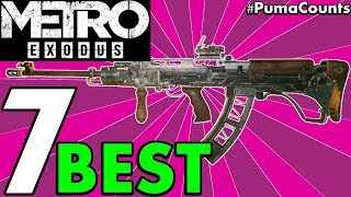 Top 7 Best Guns and Weapons in Metro Exodus (Top Weapons List with Customization Guide) #PumaCounts