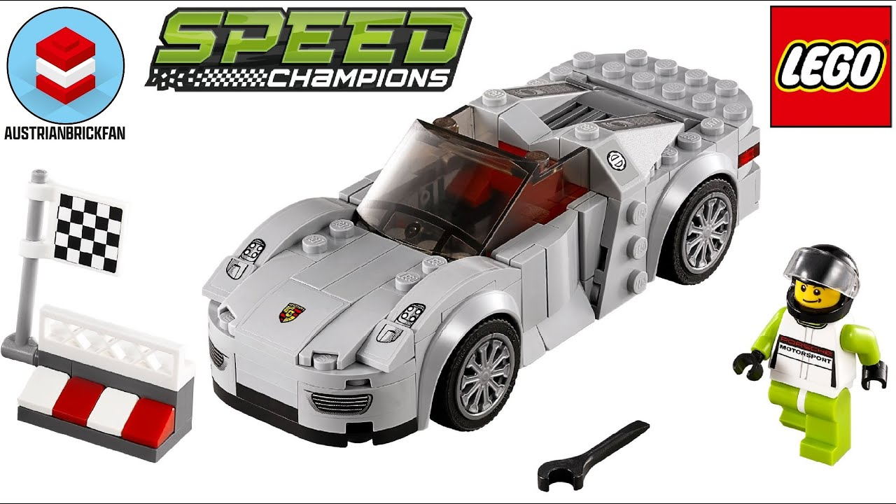 lego speed champions 75910 porsche 918 spyder lego speed. Black Bedroom Furniture Sets. Home Design Ideas