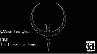 Q!Zone For Quake (DOS) E1M1: The Forgotten Temple