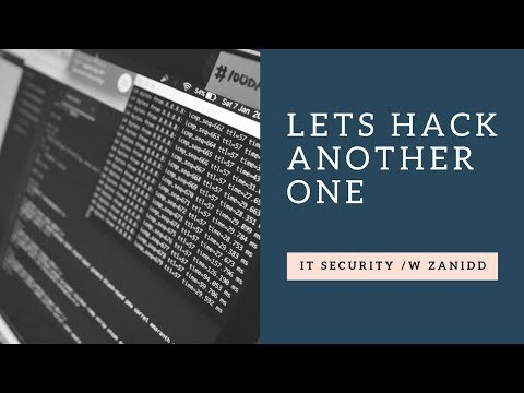 LETS HACK ANOTHER ONE | IT Security /w Zanidd