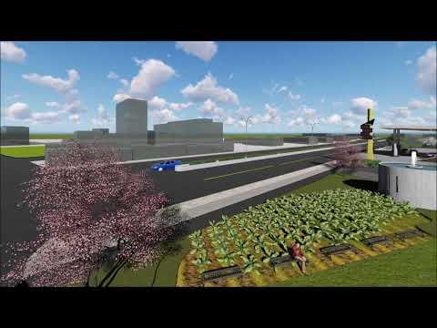 夢想西螺-亞柏加油站競圖3D動畫