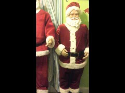 5ft singing santa claus