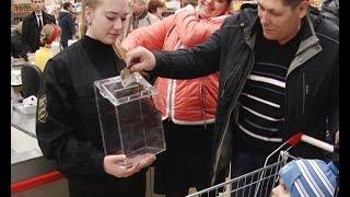 Студенты предложили жителям Альметьевска почувствовать себя слепыми
