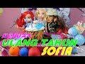 Drama dongeng anak boneka BARBIE    Kejutan ULTAH untuk sahabatku SOFIA