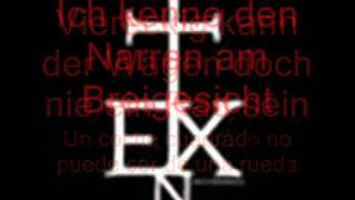 In Extremo - Ich Kenne Alles (Letras Alemán - Español)