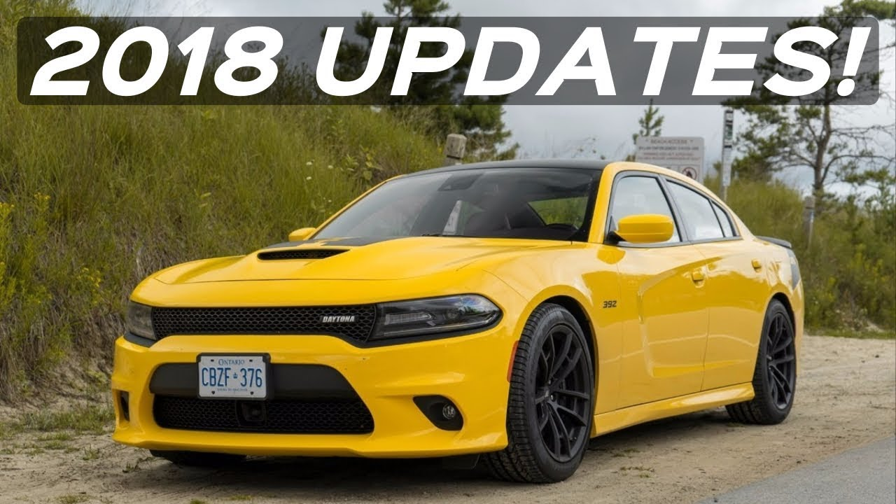 What S New For The 2018 Dodge Charger Lineup Models Colors More