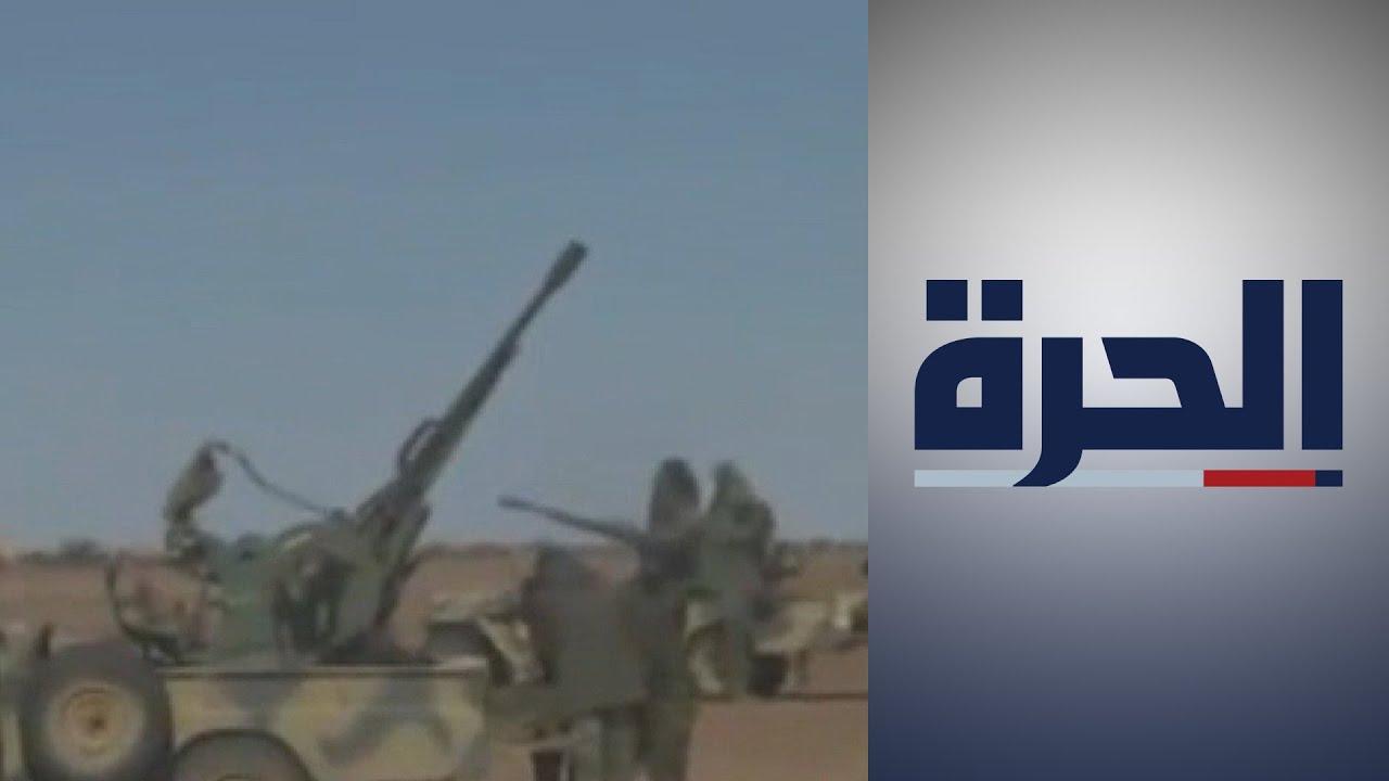جبهة بوليساريو تعلن قصف جبهة منطقة الكركرات في الصحراء الغربية  - 18:58-2021 / 1 / 24