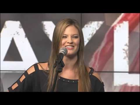 Ayla Brown performs on TN Mornings