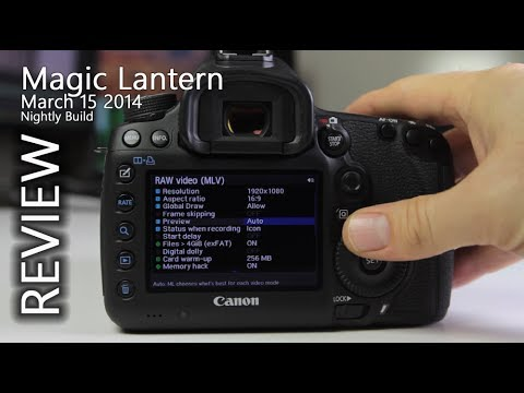 5D Mark III + Magic Lantern March 15, 2014 Update - YouTube