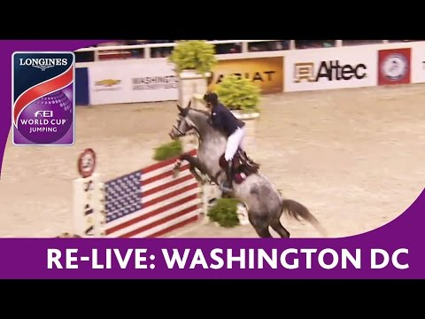 Re-Live - NAL - Longines FEI World Cup™ Jumping - Washington DC - Jumping Speed Final