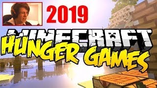 playing Minecraft Hunger Games for the first time in 4 years!
