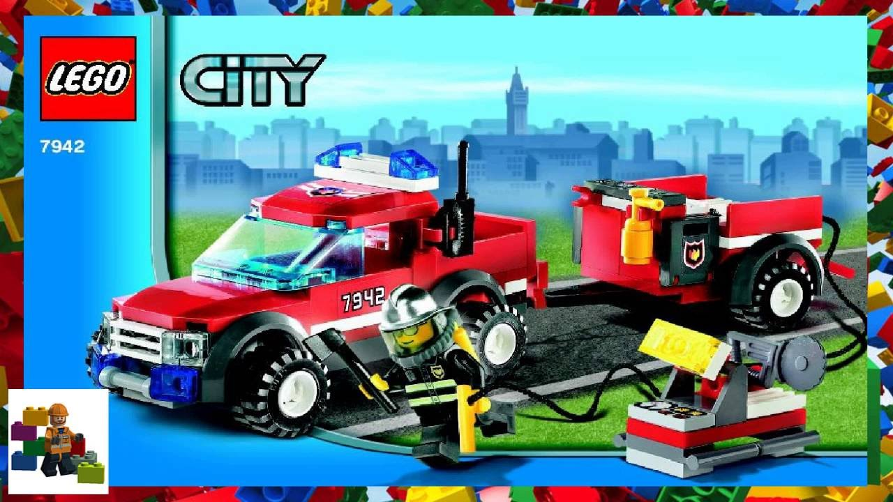 LEGO instructions - City - Fire - 7942 - Off-Road Fire Rescue