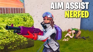 SO EPIC TEMPORARILY DISABLED AIM ASSIST.... (And It Was Bad)