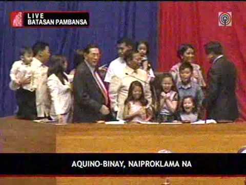 Noy Bi - Philippines 2010 Proclamation
