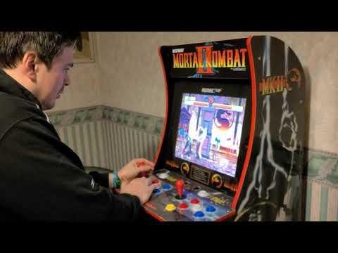 My Mortal Kombat Arcade1up Cabinet | NoobishNoobTuber Gets Destroyed from shagster007