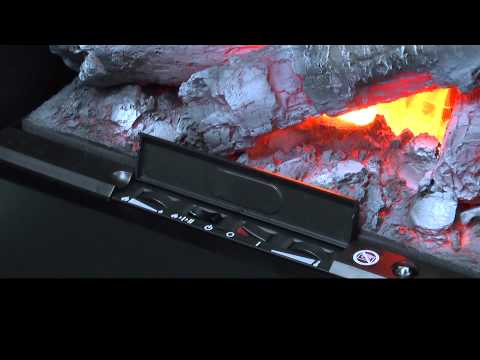 Glen Dimplex Electric fires - how it works