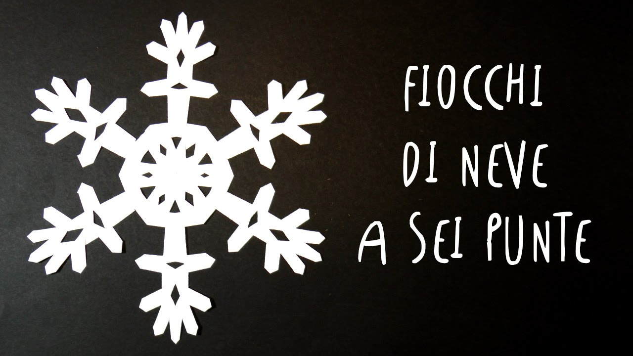 Fiocchi Di Neve Di Carta Tutorial : Fiocchi di neve di carta a sei punte facili e bellissimi by art