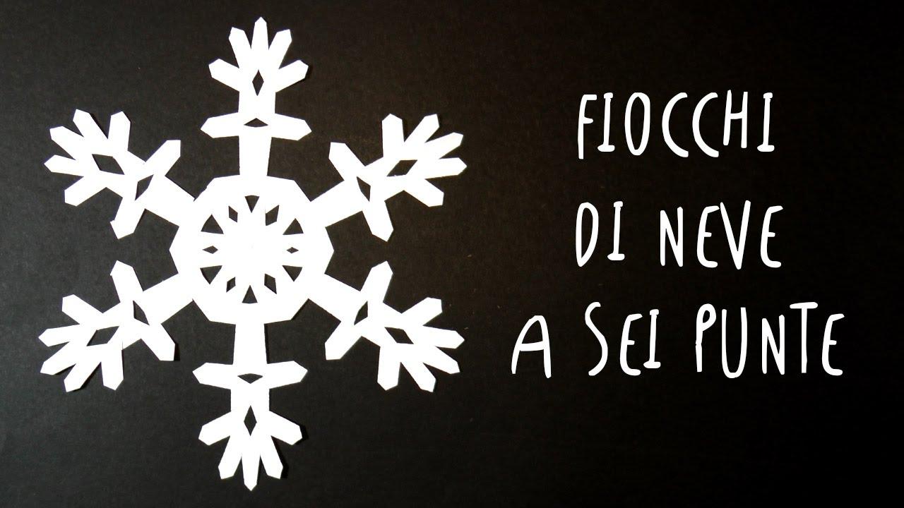 Fiocchi Di Neve Di Carta Facili : Fiocchi di neve di carta a sei punte facili e bellissimi by art